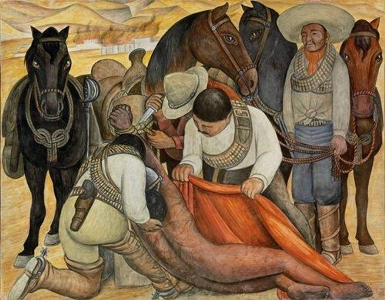 Liberation of the Peon, by Diego Rivera (1931)