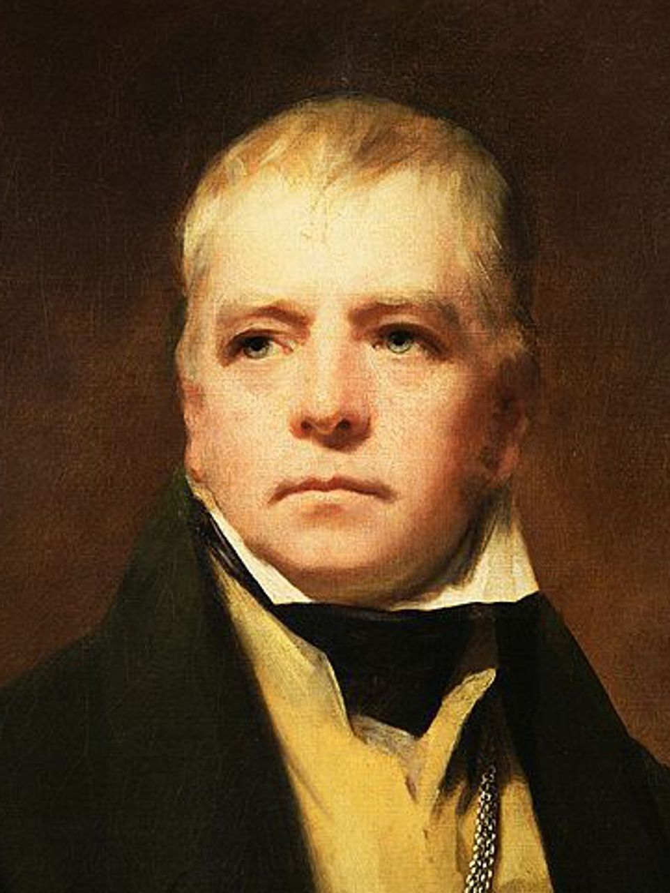 Sir Henry Raeburn's portrait of Sir Walter Scott (1822)
