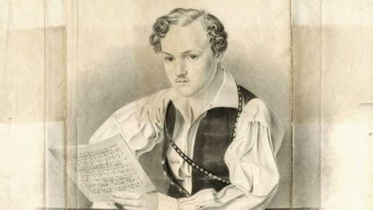 Recently rediscovered portrait of Georg Büchner by Philipp August Joseph Hoffmann, 1833
