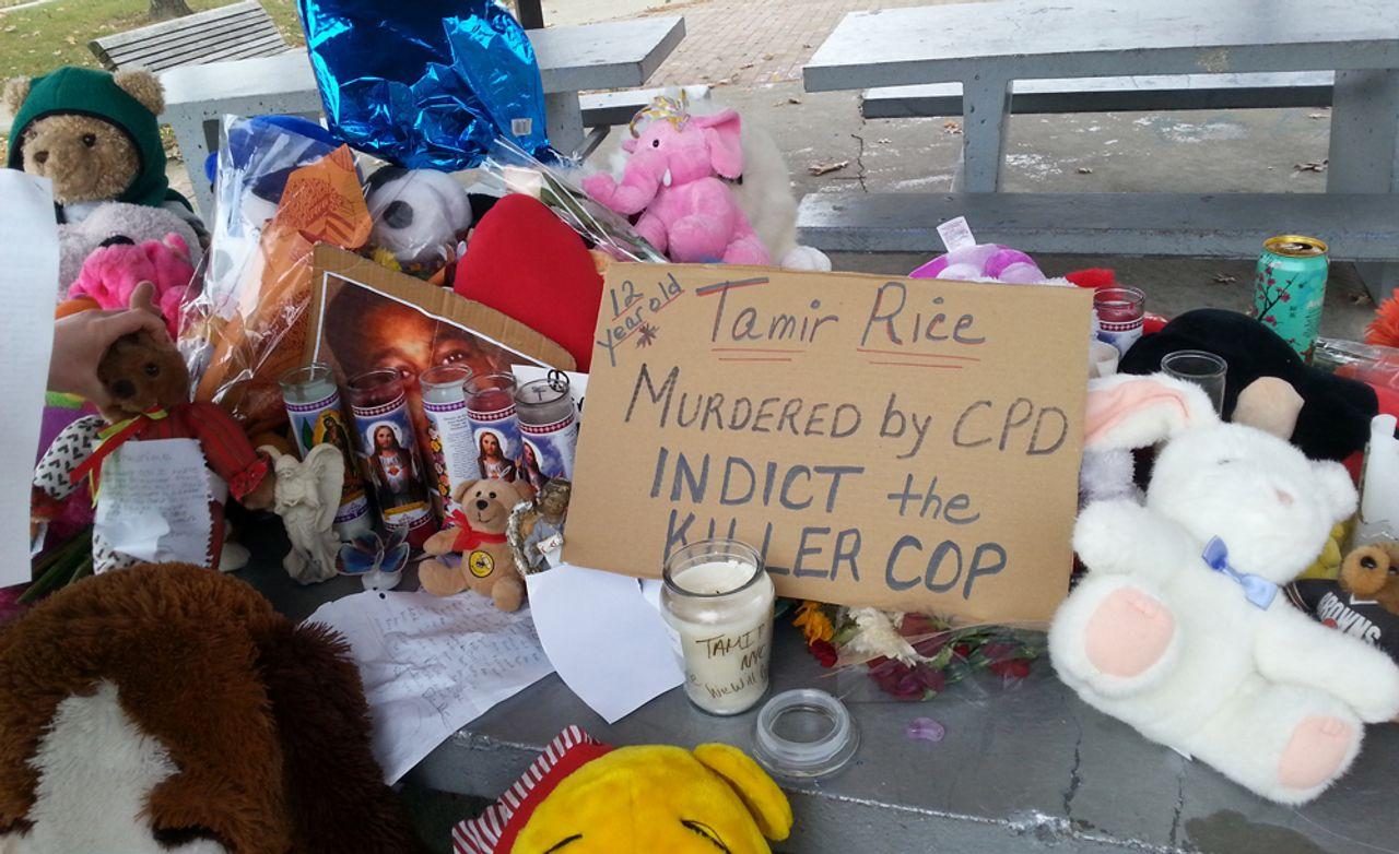 Memorial to Tamir Rice