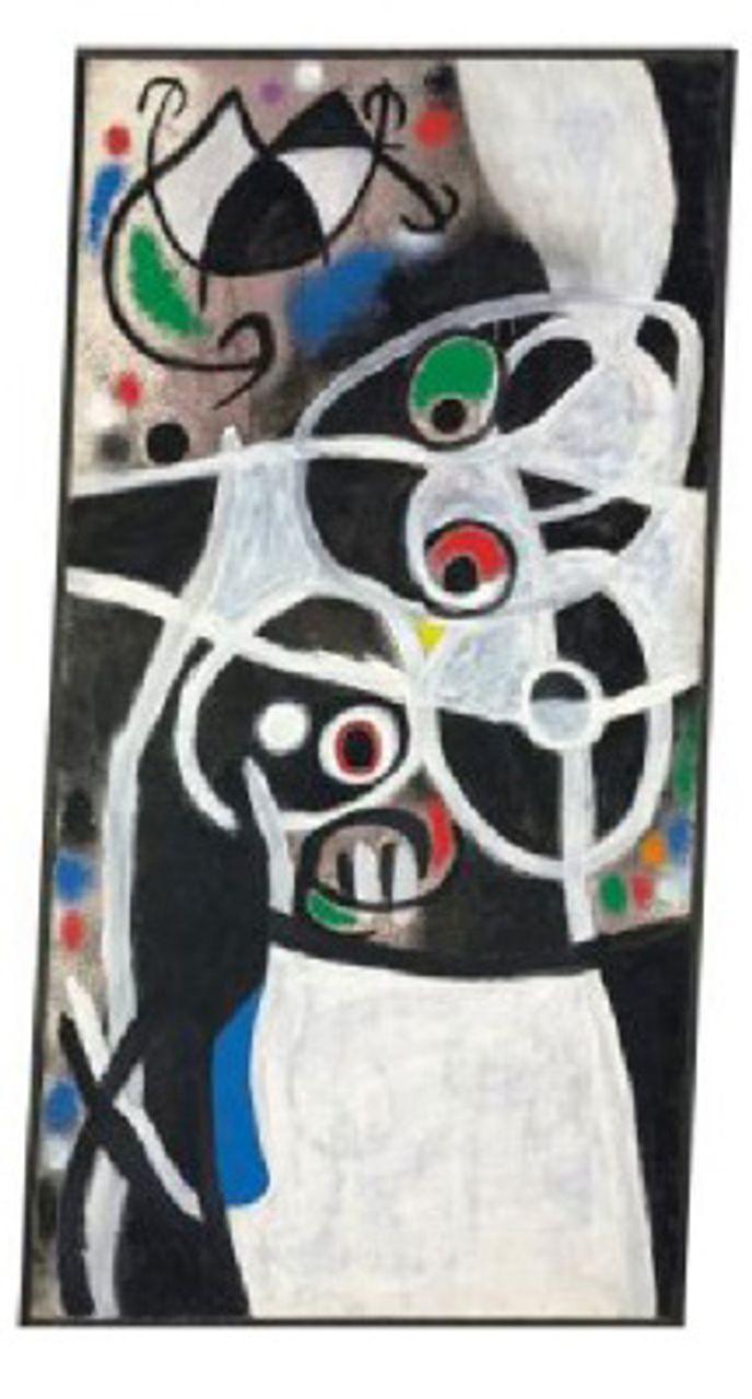Femmes et oiseaux (1968) by Joan Miró