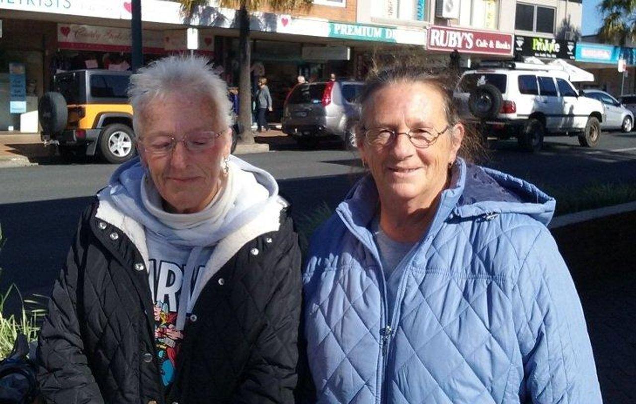Australians Judy and Jenny