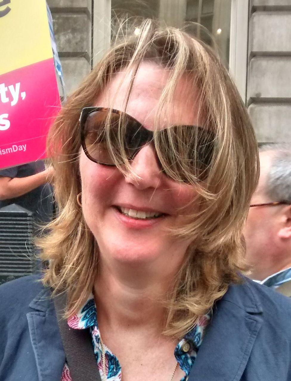 Laura, 1 July London anti-Theresa May demonstrator