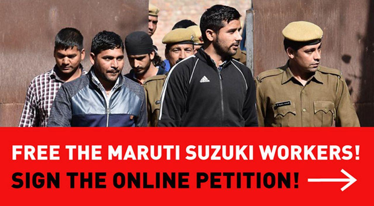 Free Maruti Suzuki workers