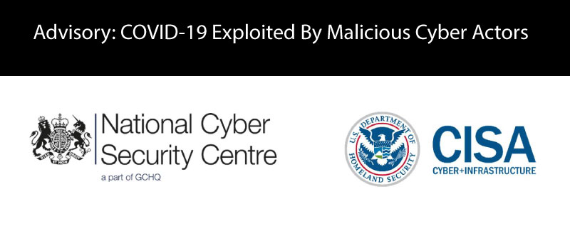 National Cyber Security Centre – COVID 19 Guidance