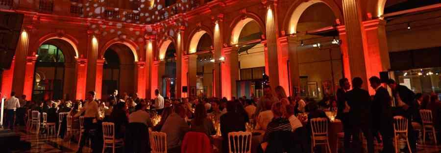 Louez votre salle de réception dans le monument historique de Marseille au Palais de La Bourse
