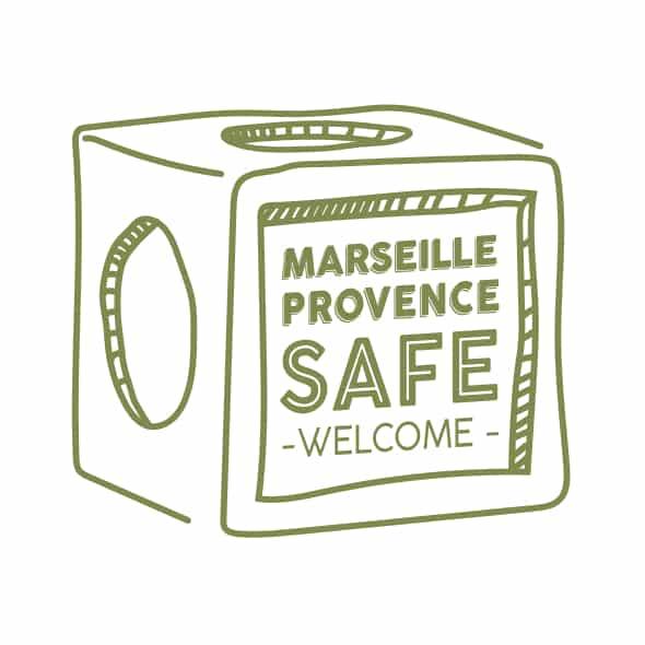 Illustration Marseille Provence SAFE WELCOME