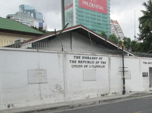 ambasada birmy bangkok