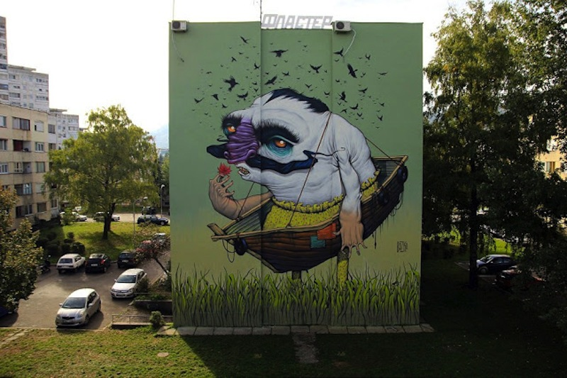 Bozko-Mural-Banja-Luka-Bosnia-Flaster-Festival-1