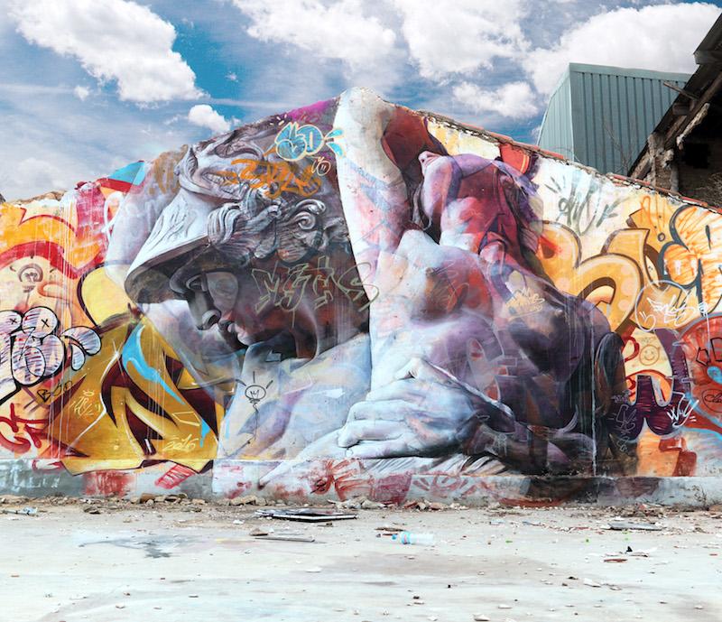 New Mural by PichiAvo in Valencia, Spain