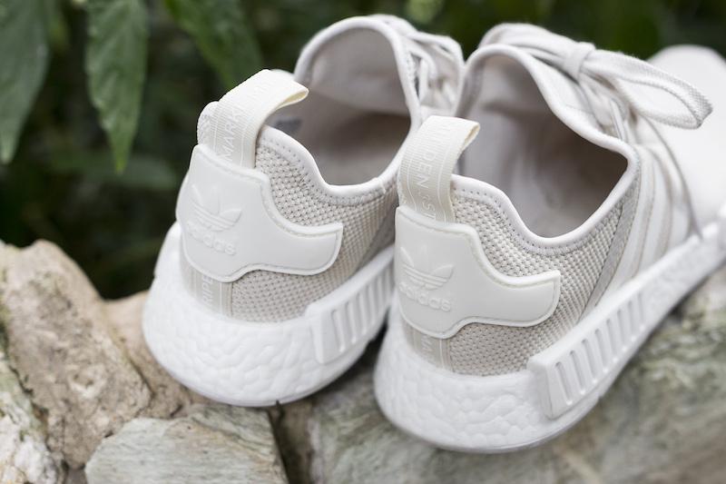 adidas NMD R1 Off-White on feet
