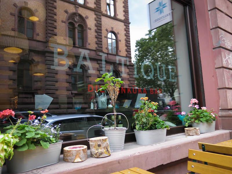 Baltique: lettische Pfannkuchen in Frankfurt