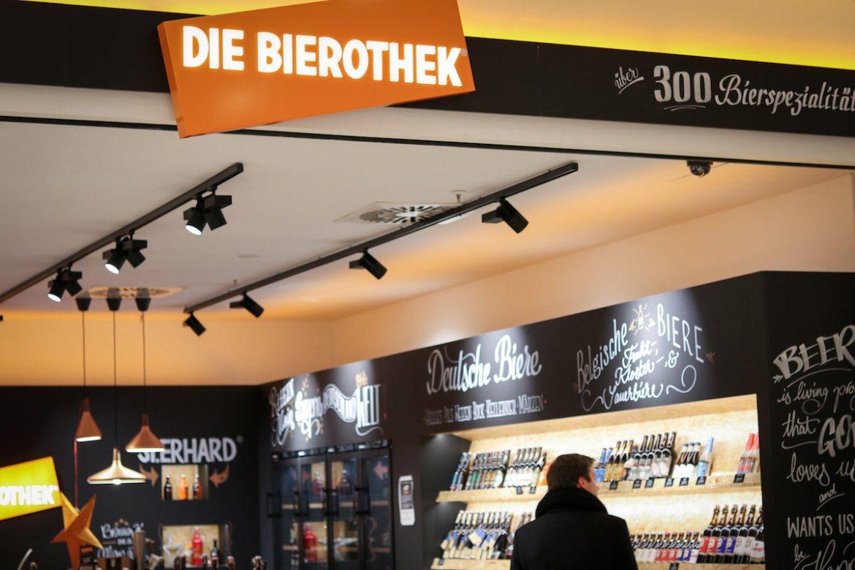 Die Bierothek Frankfurt befindet sich im Erdgeschoss