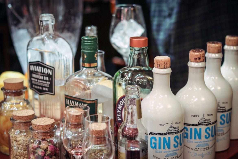 Gin Tasting bei Weinteufel Frankfurt
