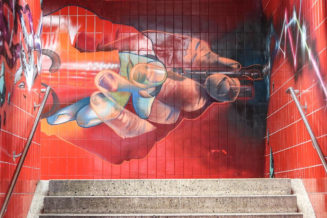 Case MaClaim Streetart Galluswarte