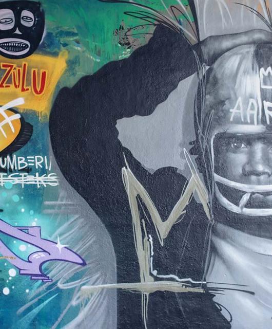 Basquiat Mural Frankfurt