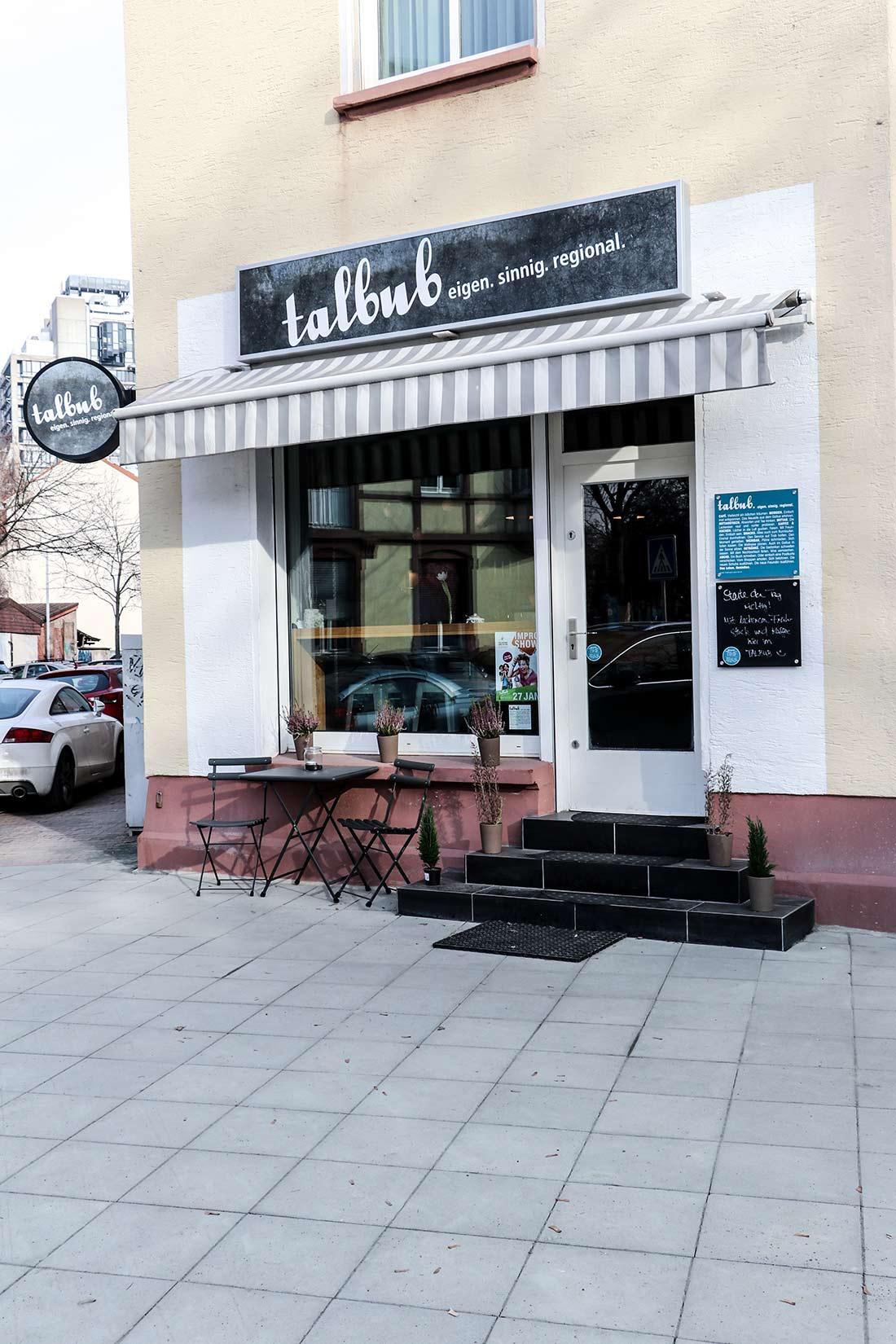 Das talbub im Gallusviertel bietet regionale Küche