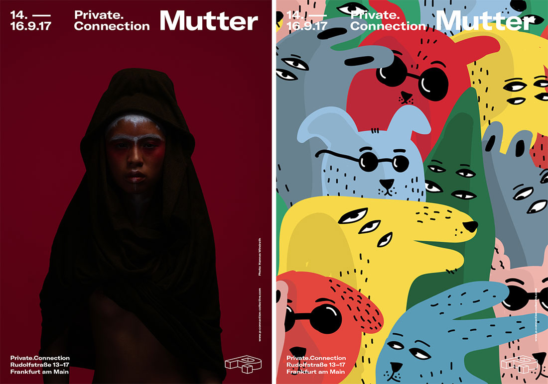 P. Connection Collective Exhibition Mutter