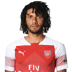 Picture of the 1.81 m (5 ft 11 in) tall Egyptian defensive midfielder of Arsenal