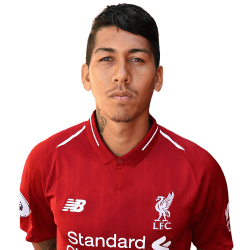 Picture of the 1.81 m (5 ft 11 in) tall Brazilian striker of Liverpool
