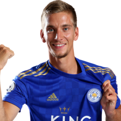 Picture of the 1.81 m (5 ft 11 in) tall Belgian central midfielder of Leicester City