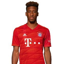 Picture of the 1.79 m (5 ft 10 in) tall French left winger of Bayern Munich