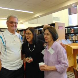 Bob Miley, Lynne Koehler McGarrigan, and Donna Woods Ritting