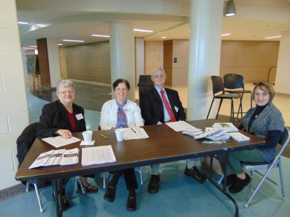 WTAA Volunteers: Alice Spencer, Dr. Mary Wilby, Rich Osbeck and Kathy Rassier
