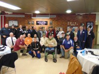 All of the Veterans at the ceremony