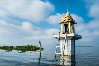 FIsherman's shrine, Inle Lake