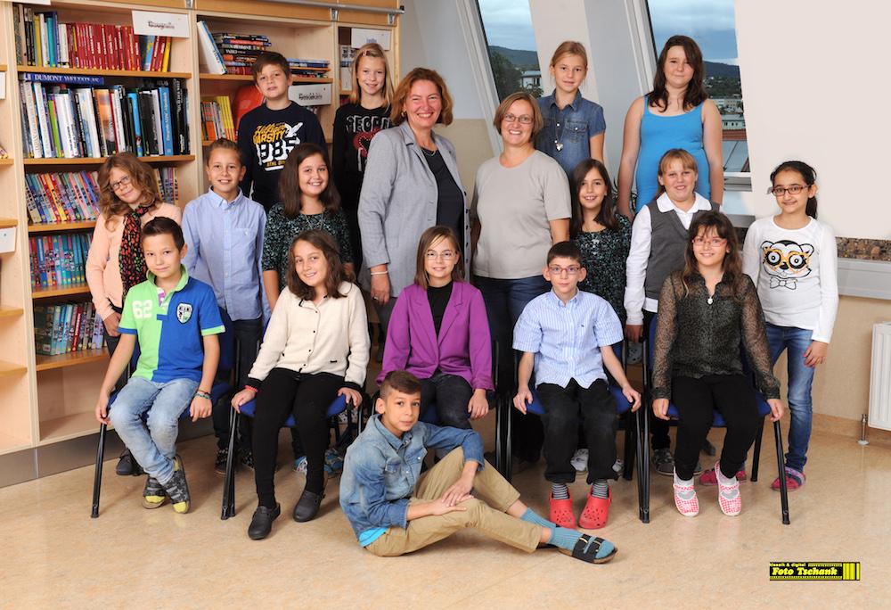 Klassenfoto der 1A