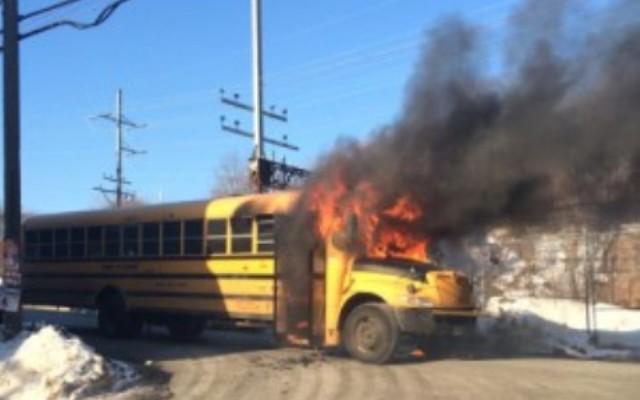 2015-02-19 Norwalk school bus fire_80818