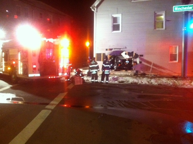 2015-03-13 New Haven Car into House 2 George DeYoung_90126