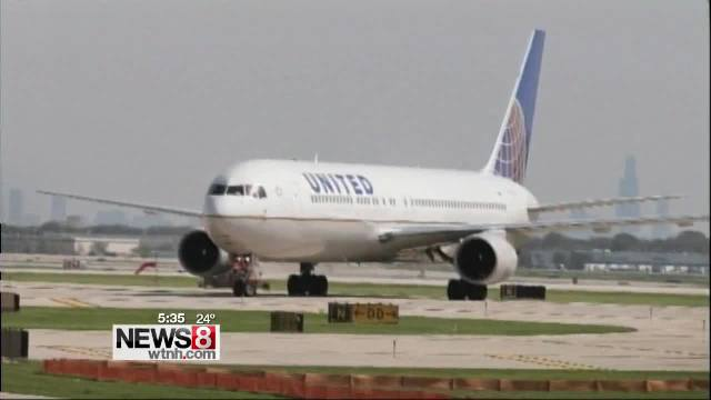 United airlines airplane_84112