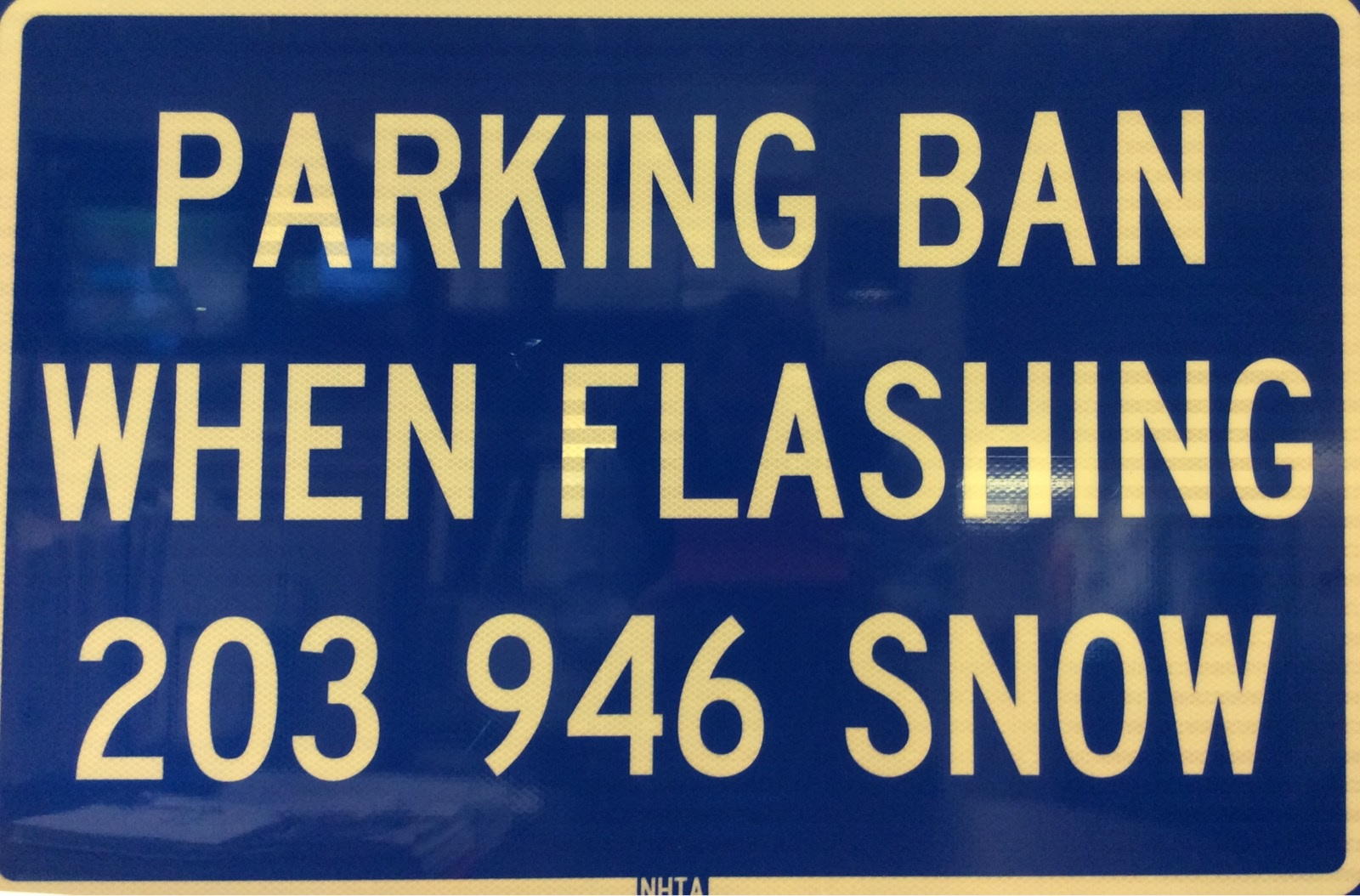Parking Ban When Flashing_220283