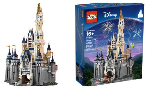 Lego unveils Cinderella Castle replica kit_306606
