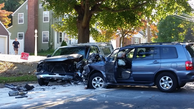 Serious accident closes road in Stratford