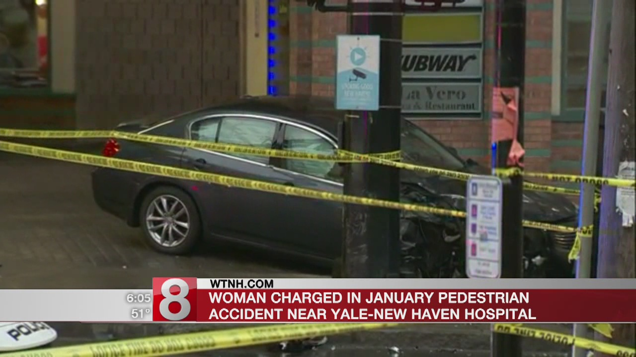 Woman charged in pedestrian accident near Yale-New Haven Hospital