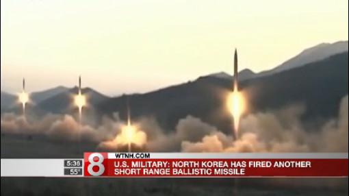 north korea projectile_460375
