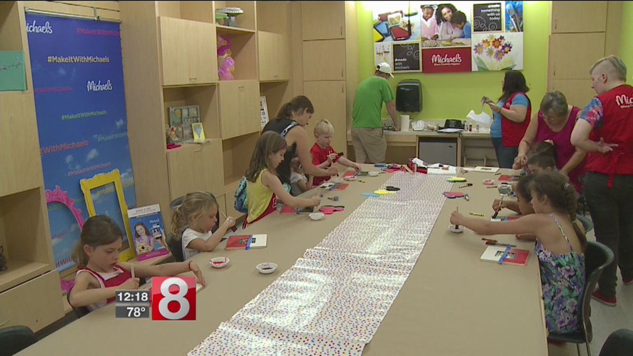 Kids get crafty this summer for $5