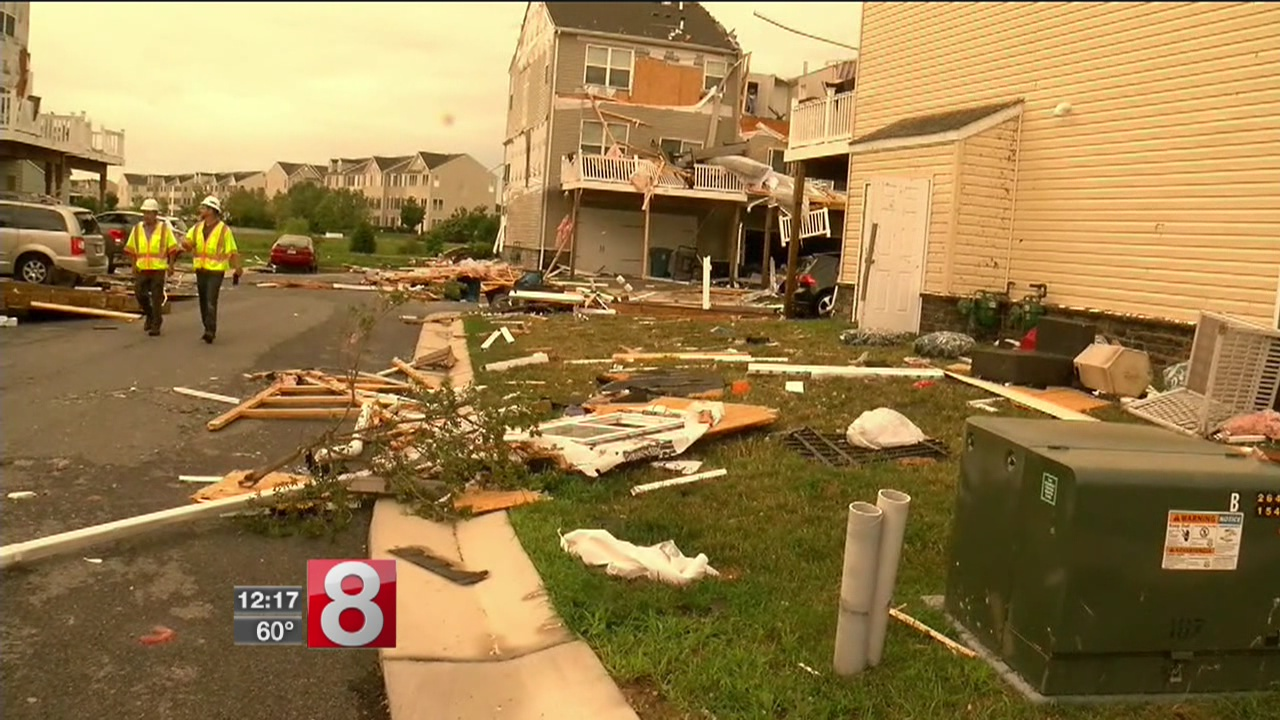 Damage, power outages reported after Maryland severe weather