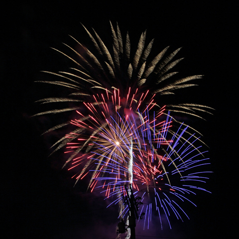 4th of July 2019 Fireworks Schedule