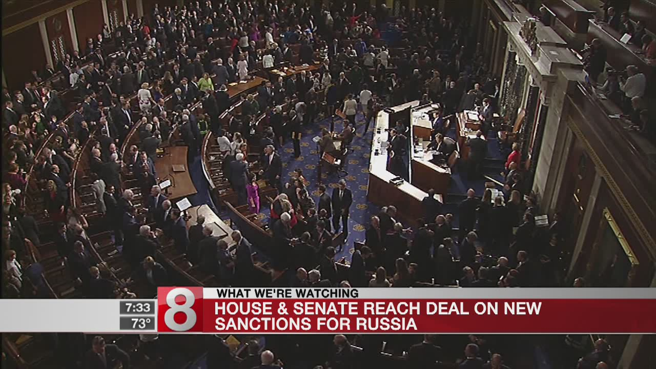 Congress reaches Russia sanctions deal