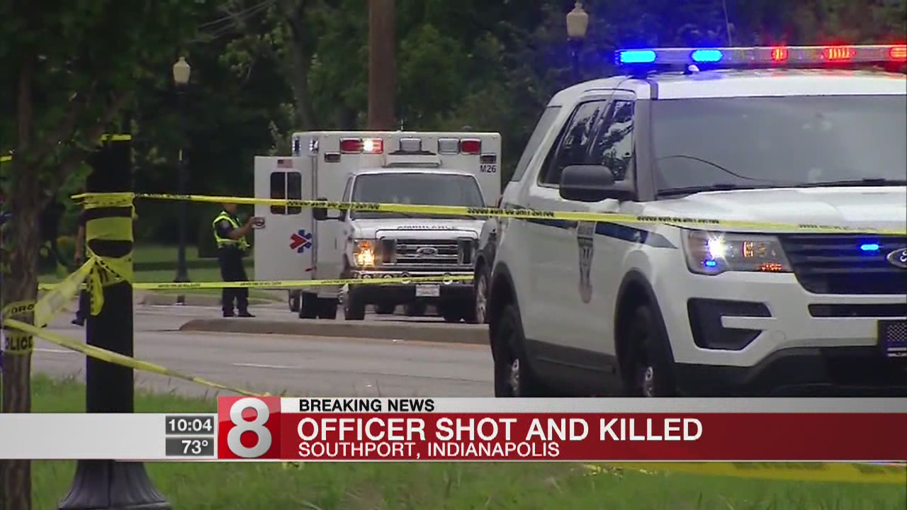 Indiana officer dies after shot multiple times