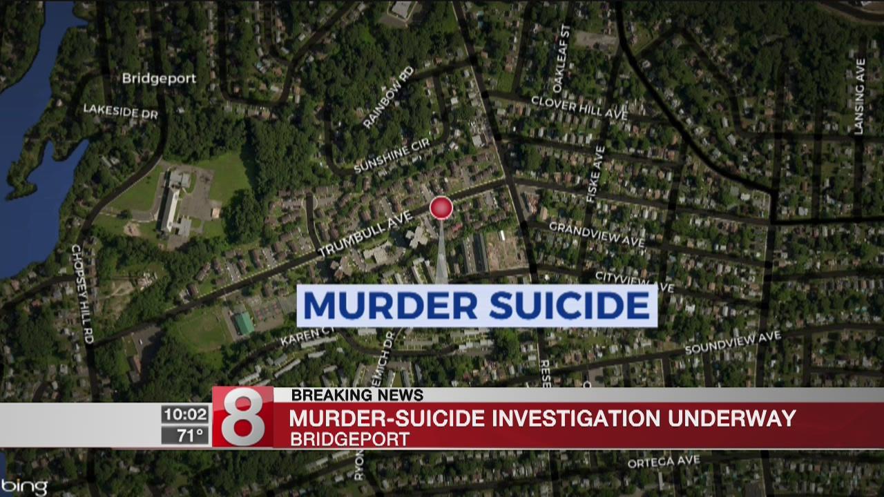 Two people dead after apparent murder-suicide in Bridgeport