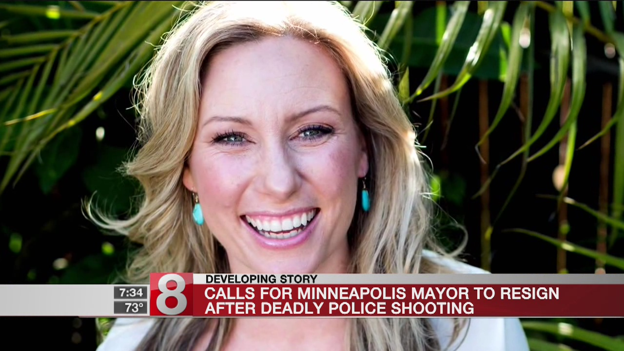 Protesters shout down Minneapolis mayor in wake of fatal shooting of bride-to-be