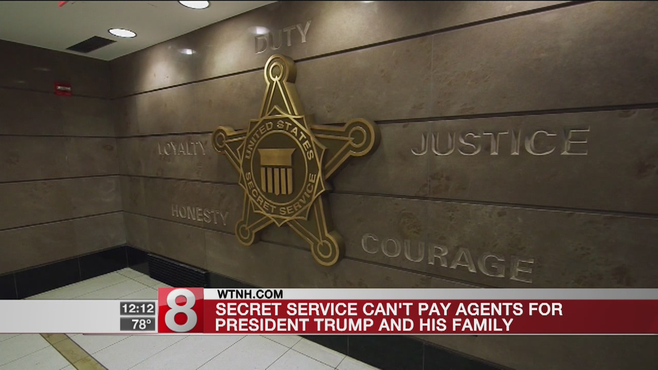 Secret Service can't pay agents for Trump and his family, report says