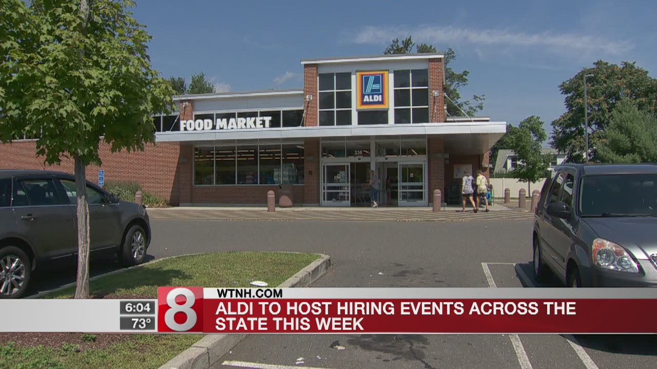 Aldi grocery store to hold hiring events for Hartford, New Haven stores