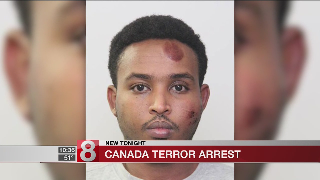 Suspect arrested in officer's stabbing in Canada by man with ISIS flag on dashboard: Police