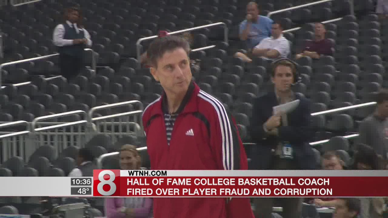 Rick Pitino out at Louisville as expected amid federal probe